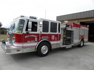 2010 KME 1750 GPM Pump 1200 Gallon Tank