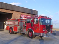 1988 E-One Spartan 1500 GPM Pump 1000 Gallon Tank