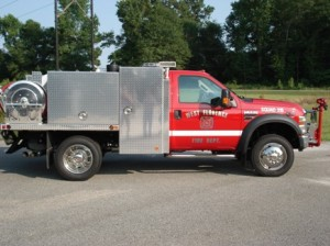 2008 Ford F-550 300 Gallon Tank 200 GPM Pump